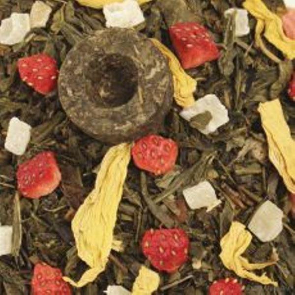 Die acht Schätze des Shaolin, aromatisierter, grüner Tee